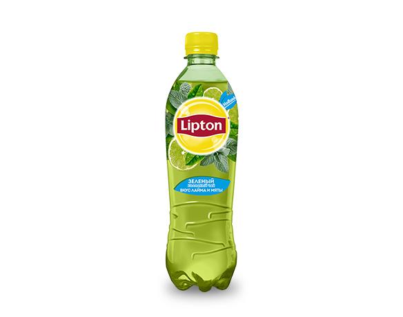 Lipton Ice Tea Зеленый с лаймом и мятой